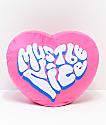 RIPNDIP Love Affair almohada rosa de corazón