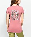 RIPNDIP Nermal Flowers Ash Rose T-Shirt