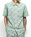 RIPNDIP Nermal Leaf Short Sleeve Button Up Shirt