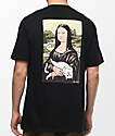 RIPNDIP Nermal Lisa camiseta negra con bolsillo
