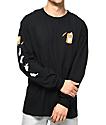 RIPNDIP Nermal Pills camiseta negra de manga larga