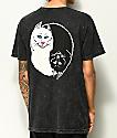 RIPNDIP Nermal Yin Yang camiseta con lavado negro
