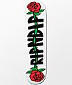 "RIPNDIP Rose 8.0"" Skateboard Deck"