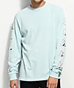 RIPNDIP Stoner Sea Foam Long Sleeve T-Shirt