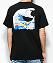 RIPNDIP The Great Wave Of Nerm Black T-Shirt