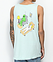 RIPNDIP Therapy Flower Mint Tank Top