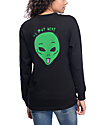 RIPNDIP We Out Here Black Long Sleeve T-Shirt