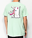RIPNDIP Zipper Face camiseta menta