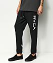 RVCA Big Black Sweatpants
