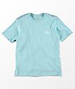 RVCA Boys VA Ink Blue Cosmos T-Shirt
