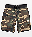 RVCA Eastern Camo & Black Boardshorts