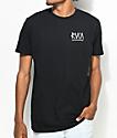 RVCA Flip Standard Black T-Shirt