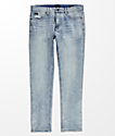RVCA Hexed Light Blue Sea Bleached Jeans