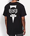 RVCA Hosoi Dayshift camiseta negra con bolsillo