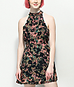 RVCA Kingsman Floral Mauve Dress