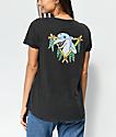 RVCA Pelletier Dolphin Club Pelletier Black T-Shirt