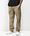 RVCA Weekend pantalones chinos de caqui