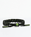 Rastaclat Alpha Classic Black & Green Bracelet