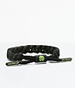 Rastaclat Alpha Classic pulsera negra y verde