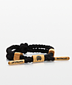 Rastaclat Baloo Black Knotaclat Bracelet