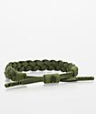 Rastaclat Classic Sage Olive Suede Bracelet