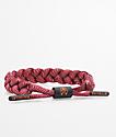 Rastaclat Classic Spinoza Orange & Red Bracelet