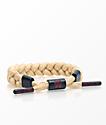 Rastaclat Classic Tan & Navy Bracelet