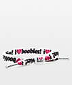 Rastaclat I Love Boobies pulsera de cordón