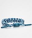 Rastaclat Miniclat Yuki  pulsera clásica azul y blanca