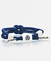 Rastaclat Positive Vibes Knotaclat Blue Bracelet