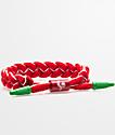 Rastaclat x Sriracha pulsera clásica roja