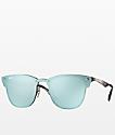 Ray-Ban Blaze Clubmaster gafas de sol plateadas