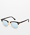 Ray-Ban Clubmaster gafas de sol en color arena Havana