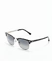 Ray-Ban Clubmaster gafas de sol en gris degradado