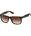 Ray-Ban Justin gafas de sol en carey Havana
