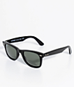 Ray-Ban No Tilt Wayfarer Black Sunglasses