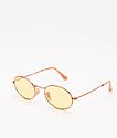 Ray-Ban RB3547N Evolve Light Yellow Sunglasses