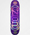 "Real Zion Oval 8.06"" Purple Skateboard Deck"