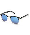 Retro Kruz Black Sunglasses