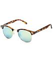 Retro Kruz Tortoise & Gold Revo Sunglasses