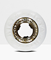 Ricta Nyjah Gold Core White 53mm Skateboard Wheels