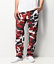 Rothco BDU Tactical Camo pantalones cargos en rojo