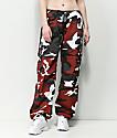 Rothco BDU pantalones de camuflaje rojo