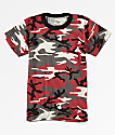 Rothco Boys Red Camo T-Shirt