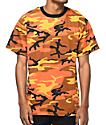 Rothco Savage camiseta camuflada en color naranja