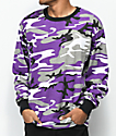 Rothco Ultra Violet Camo Long Sleeve T-Shirt