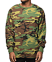 Rothco Woodland Camo Long Sleeve T-Shirt