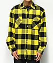 Rothco camisa de franela amarilla y negra