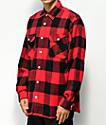 Rothco camisa de franela roja y negra