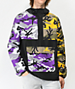 Rothco x Vitriol Cobra Camo Colorblocked Anorak Jacket